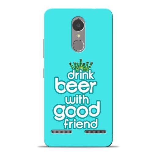 Drink Beer Lenovo K6 Power Mobile Cover