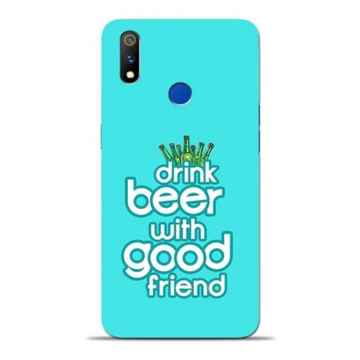 Drink Beer Oppo Realme 3 Pro Mobile Cover