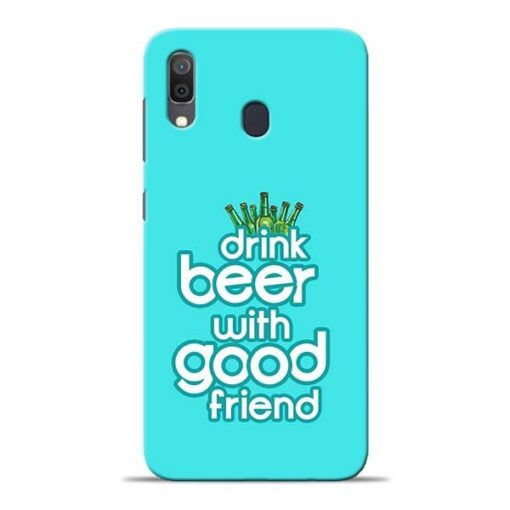 Drink Beer Samsung A30 Mobile Cover