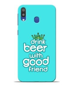 Drink Beer Samsung M20 Mobile Cover