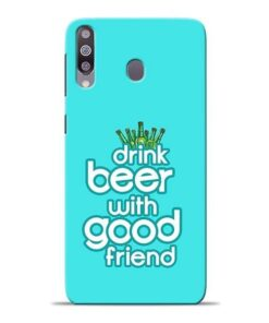 Drink Beer Samsung M30 Mobile Cover