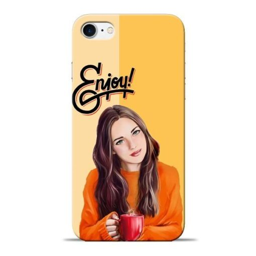 Enjoy Life Apple iPhone 8 Mobile Cover