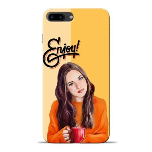 Enjoy Life Apple iPhone 8 Plus Mobile Cover