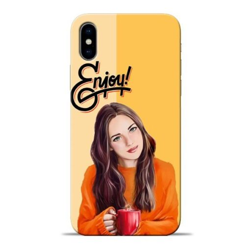 Enjoy Life Apple iPhone X Mobile Cover