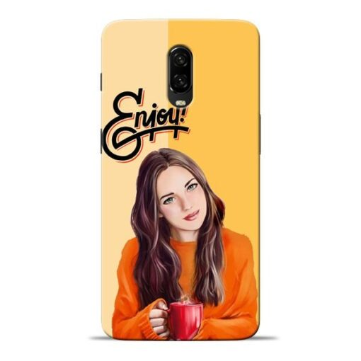 Enjoy Life Oneplus 6T Mobile Cover