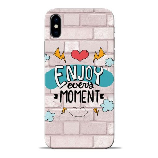 Enjoy Moment Apple iPhone X Mobile Cover