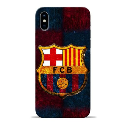 FC Barcelona Apple iPhone X Mobile Cover