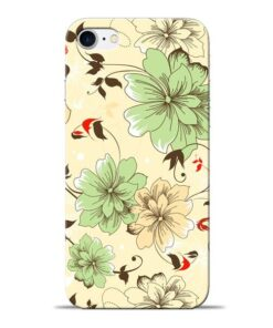 Floral Design Apple iPhone 8 Mobile Cover