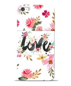 Flower Love Apple iPhone 5s Mobile Cover