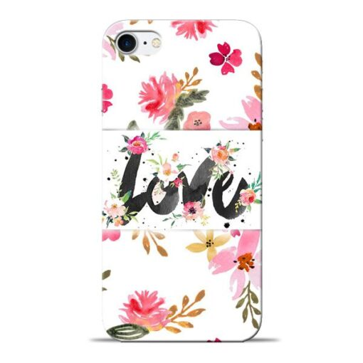 Flower Love Apple iPhone 8 Mobile Cover