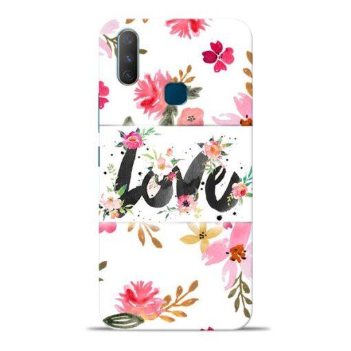 Flower Love Vivo Y17 Mobile Cover