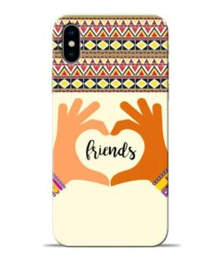 Friendship Apple iPhone X Mobile Cover