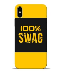 Full Swag Apple iPhone X Mobile Cover