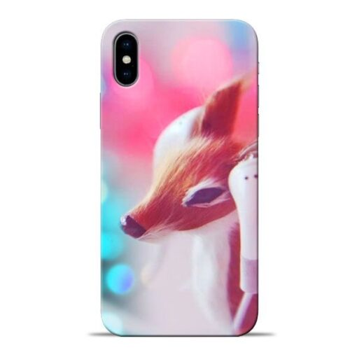 Funky Dear Apple iPhone X Mobile Cover