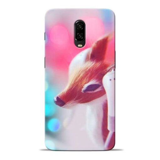 Funky Dear Oneplus 6T Mobile Cover