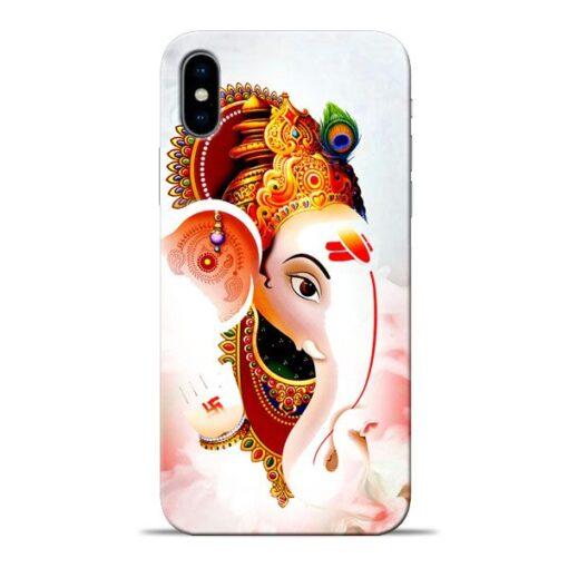 Ganpati Ji Apple iPhone X Mobile Cover
