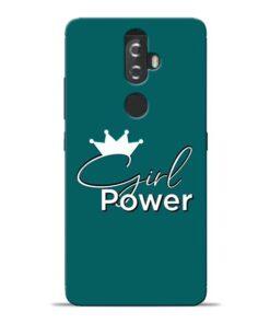 Girl Power Lenovo K8 Plus Mobile Cover