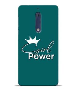 Girl Power Nokia 5 Mobile Cover