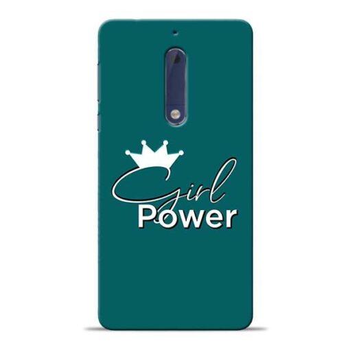 Girl Power Nokia 5 Mobile Cover