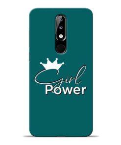 Girl Power Nokia 5.1 Plus Mobile Cover
