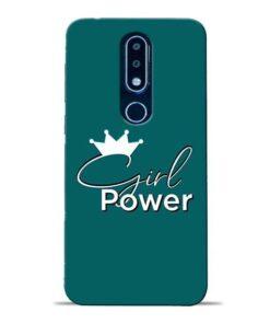 Girl Power Nokia 6.1 Plus Mobile Cover