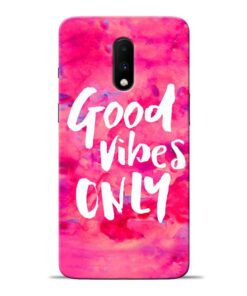 Good Vibes Oneplus 7 Mobile Cover