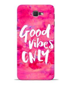 Good Vibes Samsung J7 Prime Mobile Cover