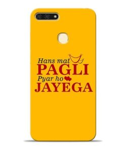 Hans Mat Pagli Honor 7A Mobile Cover