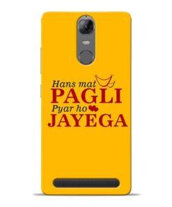 Hans Mat Pagli Lenovo K5 Note Mobile Cover