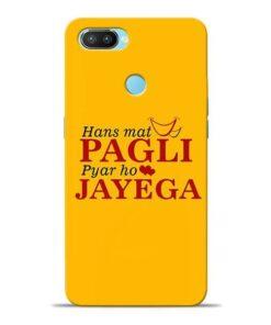 Hans Mat Pagli Oppo Realme 2 Pro Mobile Cover