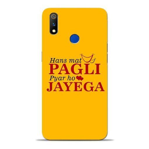 Hans Mat Pagli Oppo Realme 3 Pro Mobile Cover
