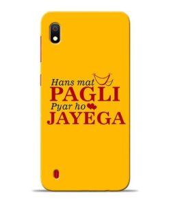 Hans Mat Pagli Samsung A10 Mobile Cover