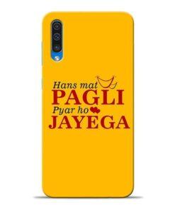 Hans Mat Pagli Samsung A50 Mobile Cover