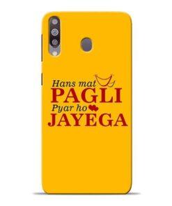 Hans Mat Pagli Samsung M30 Mobile Cover