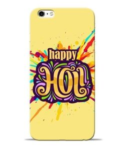 Happy Holi Apple iPhone 6s Mobile Cover