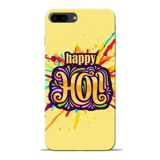 Happy Holi Apple iPhone 7 Plus Mobile Cover
