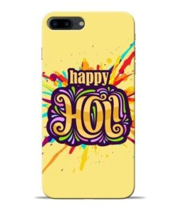 Happy Holi Apple iPhone 8 Plus Mobile Cover