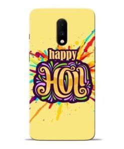 Happy Holi Oneplus 7 Mobile Cover