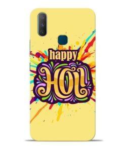 Happy Holi Vivo Y17 Mobile Cover