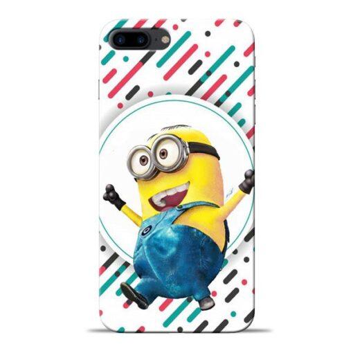 Happy Minion Apple iPhone 8 Plus Mobile Cover