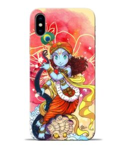 Hare Krishna Apple iPhone X Mobile Cover