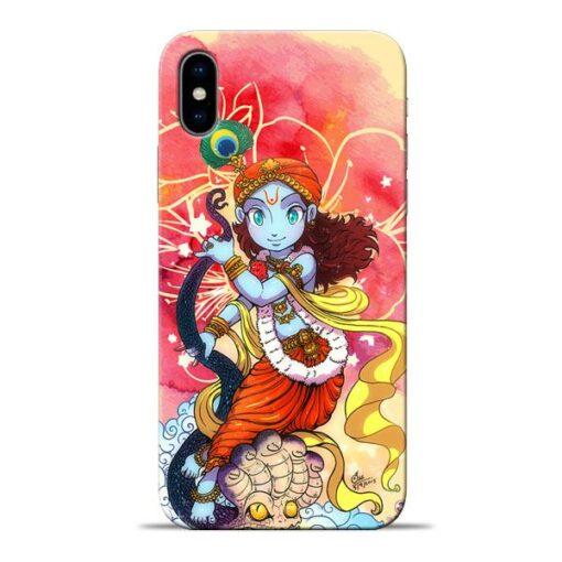 Hare Krishna Apple iPhone X Mobile Cover