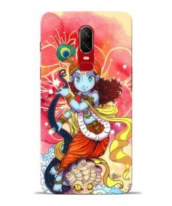 Hare Krishna Oneplus 6 Mobile Cover