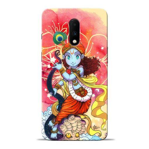 Hare Krishna Oneplus 7 Mobile Cover