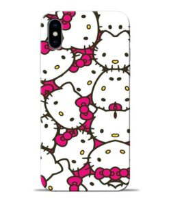 Hello Kitty Apple iPhone X Mobile Cover