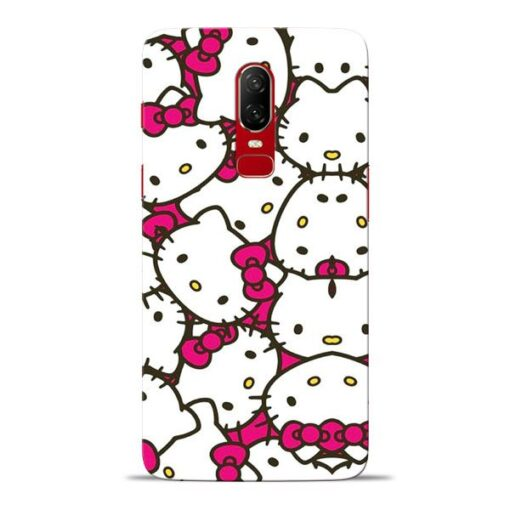 Hello Kitty Oneplus 6 Mobile Cover