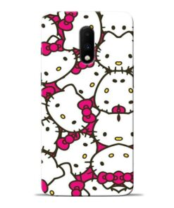 Hello Kitty Oneplus 7 Mobile Cover