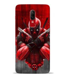 Hero Deadpool Oneplus 6 Mobile Cover