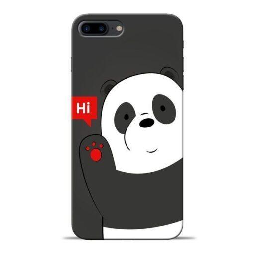 Hi Panda Apple iPhone 8 Plus Mobile Cover