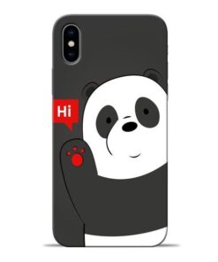 Hi Panda Apple iPhone X Mobile Cover